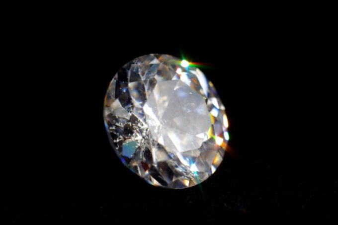 How to determine the size of the diamond