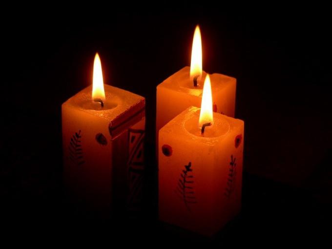 Как сделать красивую свечку