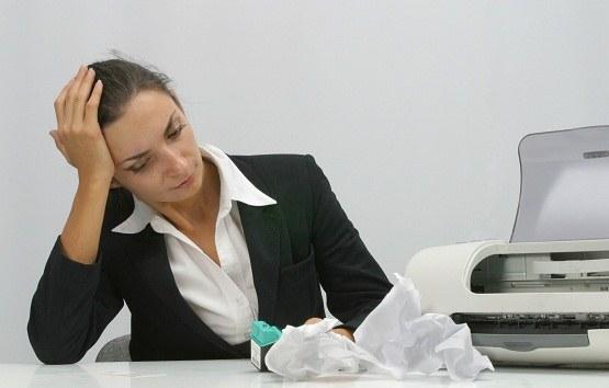 Как удалить застрявшую бумагу из принтера