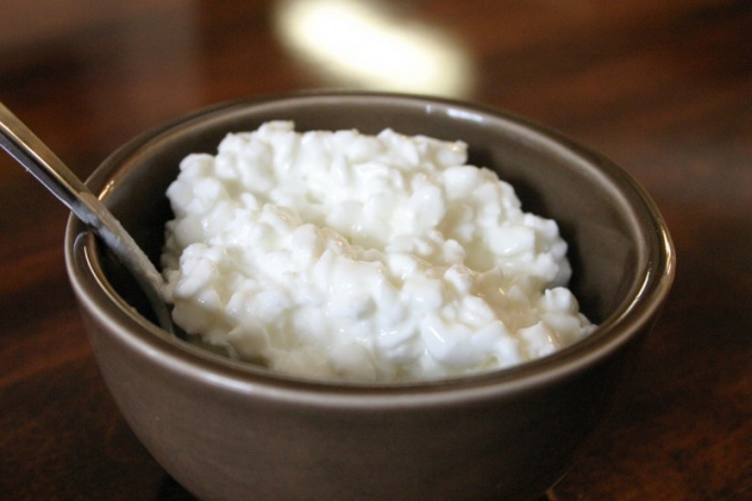 How to make kefir cottage cheese