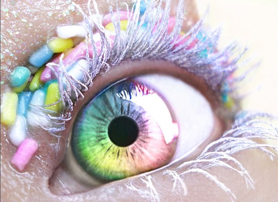 Как в Фотошопе сделать яркие глаза