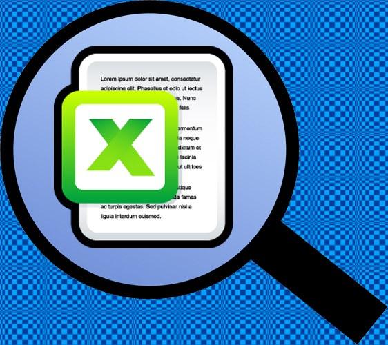 Как в Excel обнаружить текст