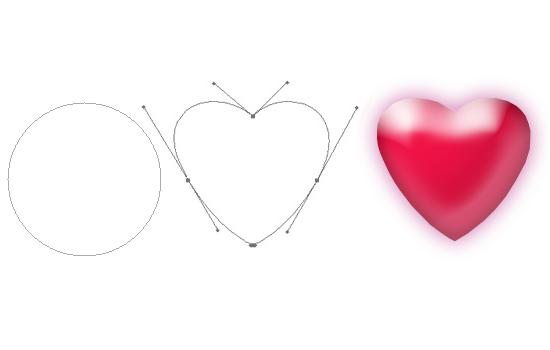 Как в <b>Фотошопе</b> нарисовать <strong>сердце</strong>