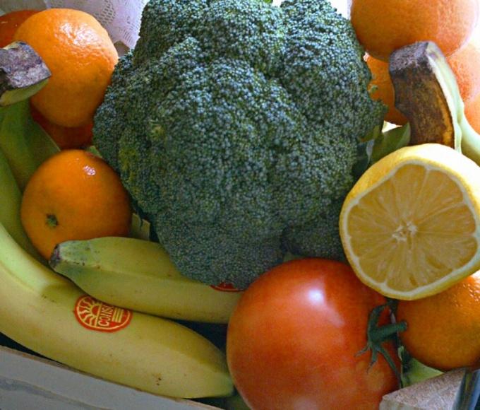 Овощи и фрукты улучшат перистальтику