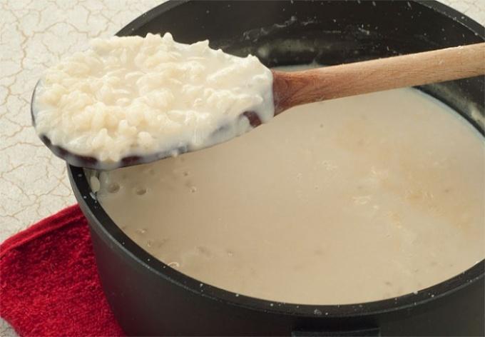 Как варить рисовую кашу грудничку