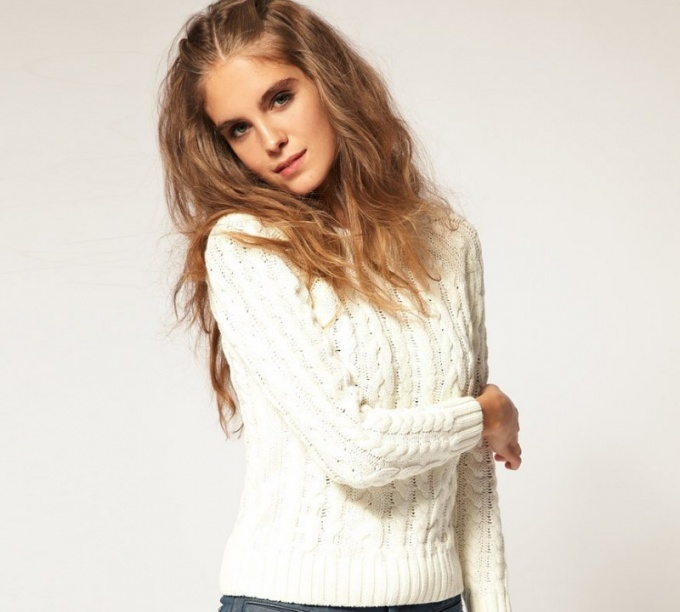 Как отбелить свитер