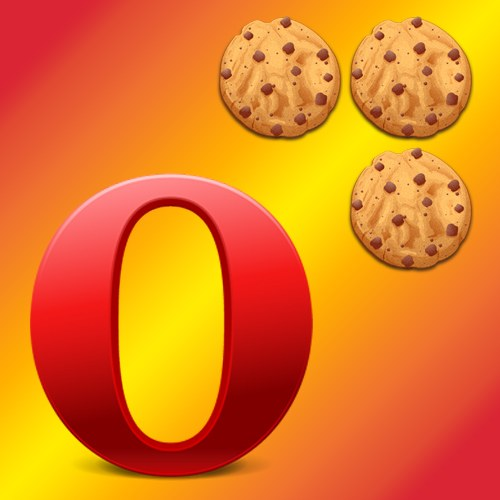 Как в Опере очистить cookie