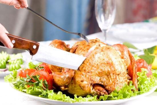 Как нужно есть курицу