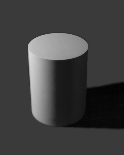 How to draw cylinder in isometric view