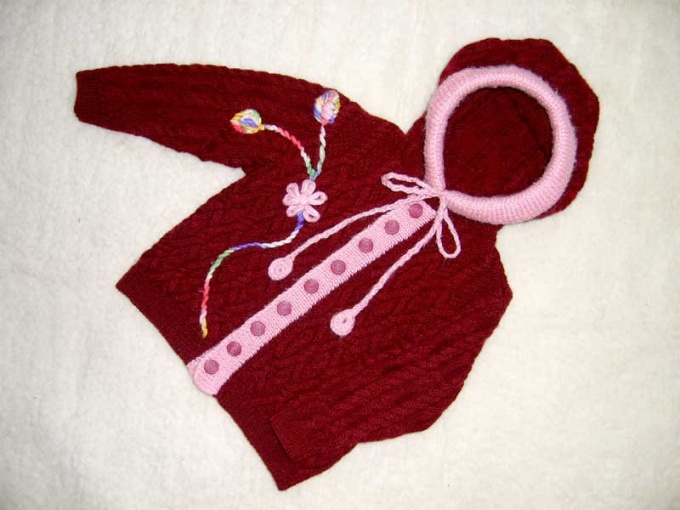 How to knit sweaters for children