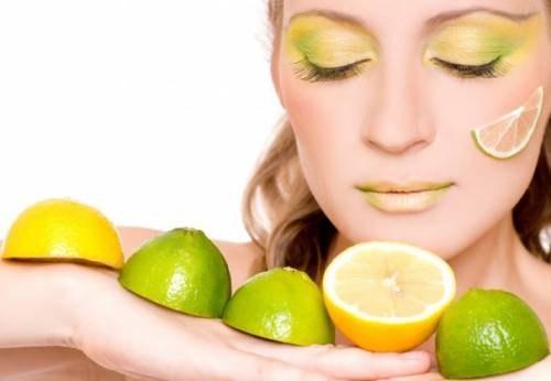 Как отбелить кожу лимоном