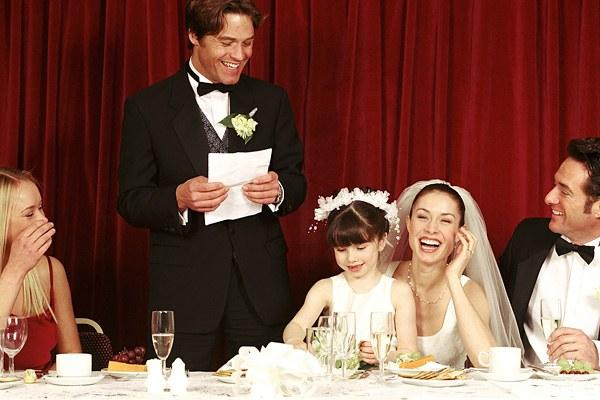 Как оригинально поздравить на свадьбе