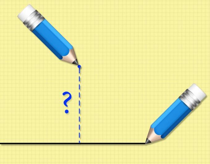 Как обнаружить расстояние от точки до прямой в пространстве