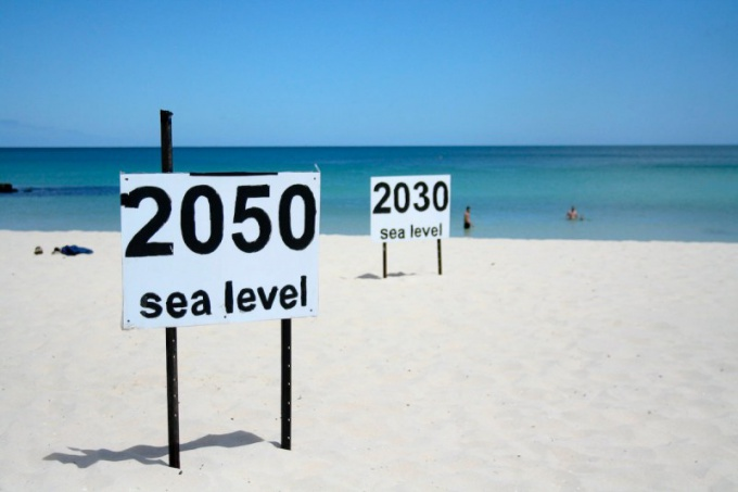 How to determine sea level