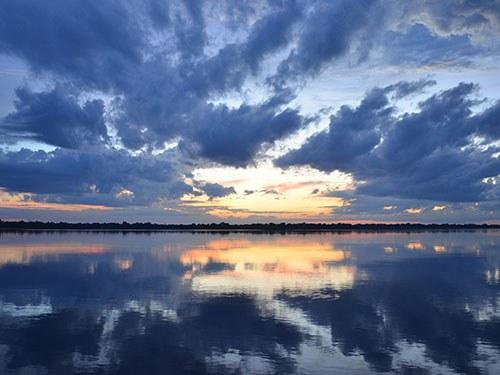 Как в Фотошопе заменить небо