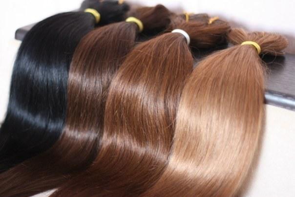 Как надевать волосы на заколках