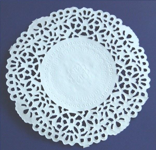 Салфетка ажурная бумажная своими руками