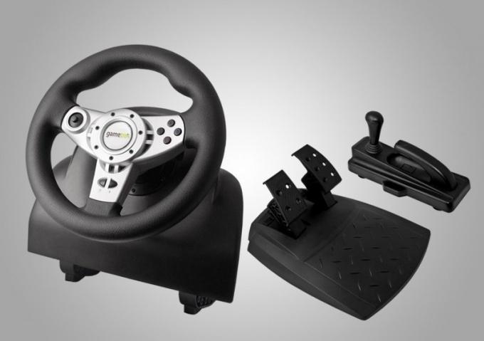 Как настроить в игре руль