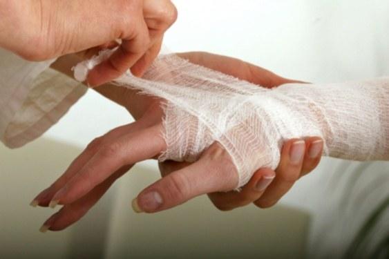 Как обеззаразить рану