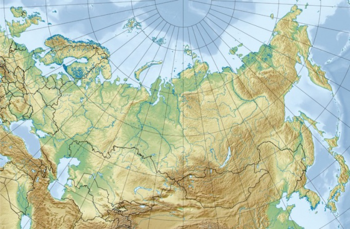How to determine the length of Russia