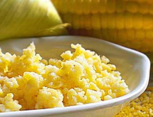 How to cook corn porridge on the water