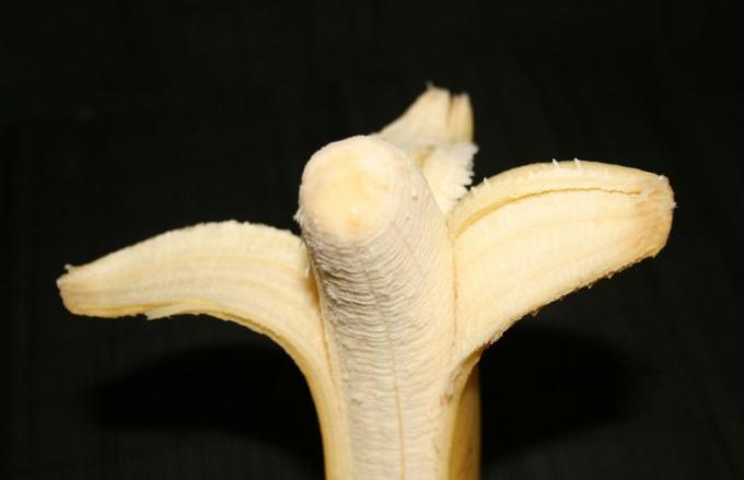 Как открывать банан