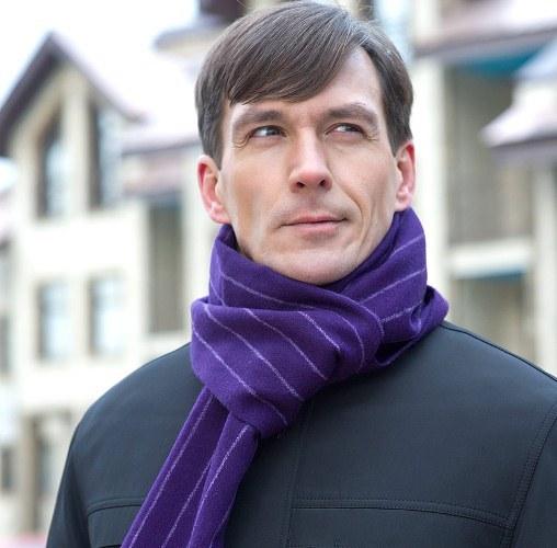 Как мужчине красиво завязать шарф