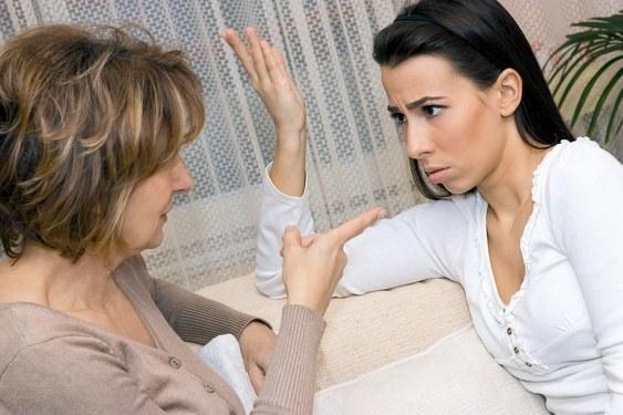 Как отвадить мужа от свекрови