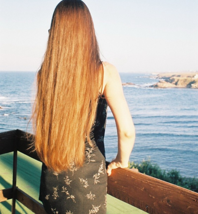 How to grow hair to waist