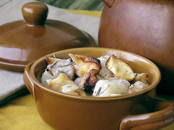 Как варить картошку с мясом