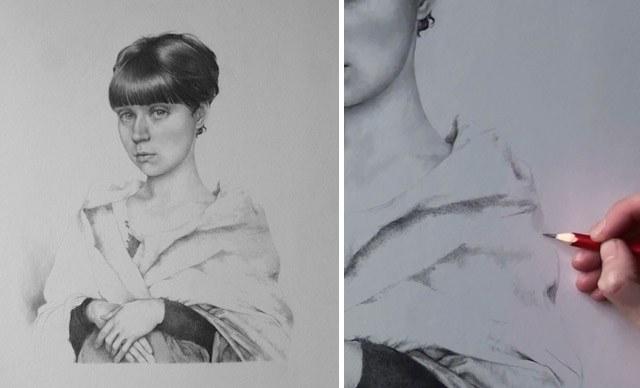 Как нарисовать лицо женщины