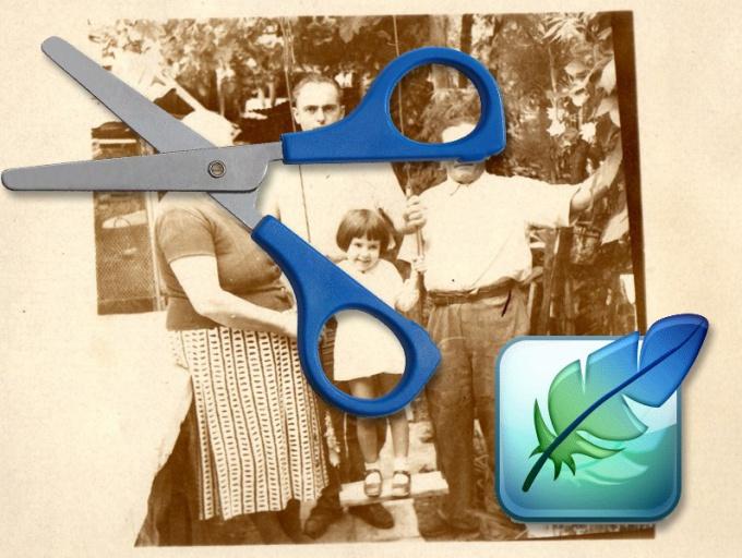 Как обрезать углы фото