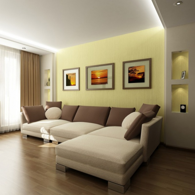 How to select a room in the apartment