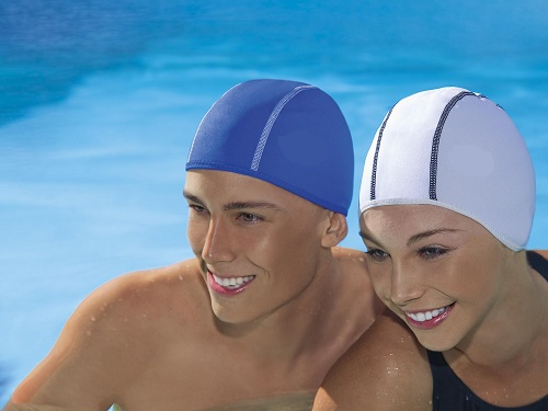 How to wear a bathing cap
