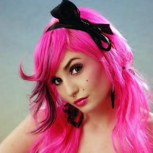 Как волосы покрасить в яркий цвет