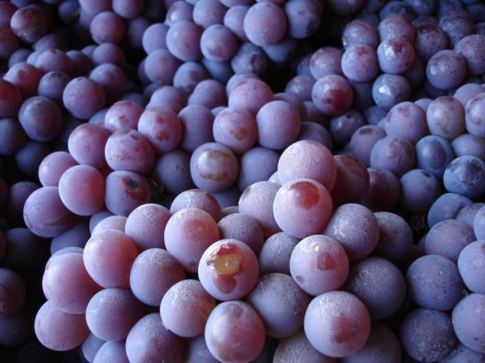 Как отжать виноград