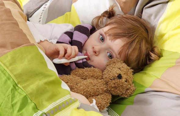 How to relieve dry cough child