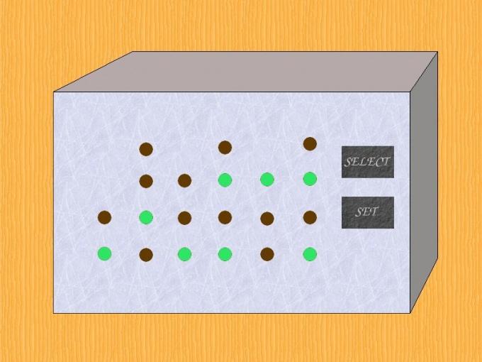 Как настроить бинарные часы