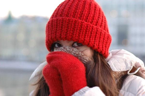 Как носить шарф зимой