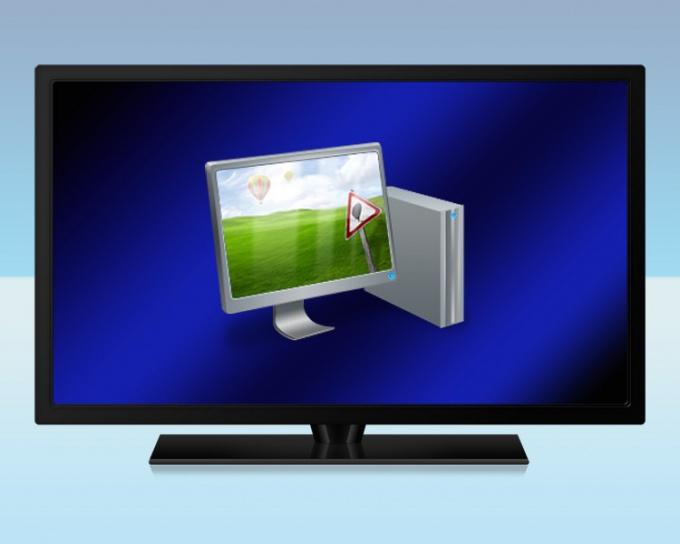 Как ПК подключить к телевизору