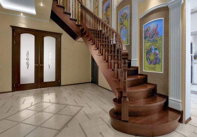 How to sheathe the metal staircase