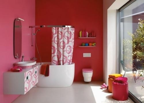 Как повесить шторку в ванной