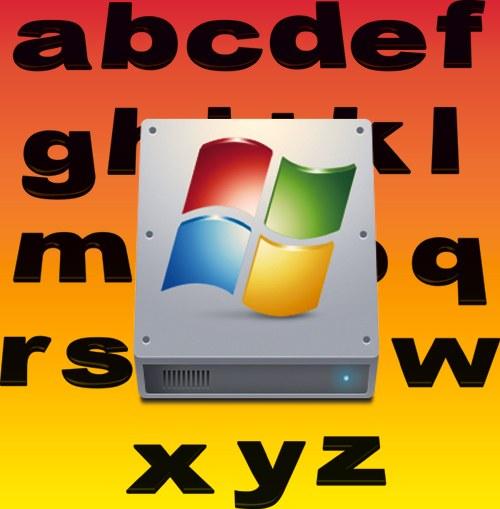 Как переназначить букву диска