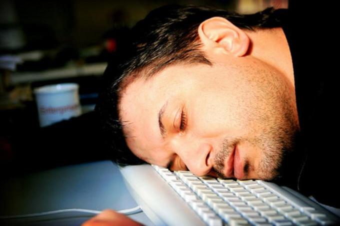 Как выйти из режима сна