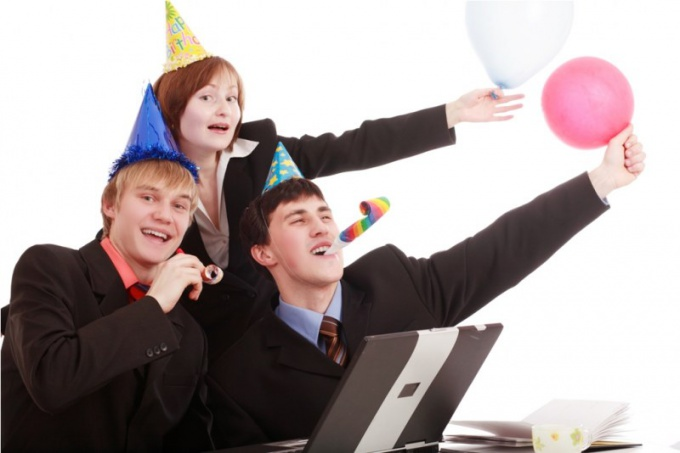 How original congratulate a colleague