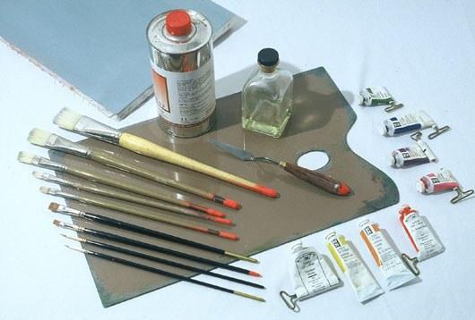 Как нарисовать картину маслом