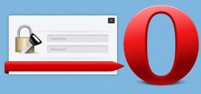 Как в Опере настроить пароли