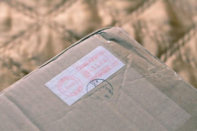 Как отследить посылку  из Гонконга