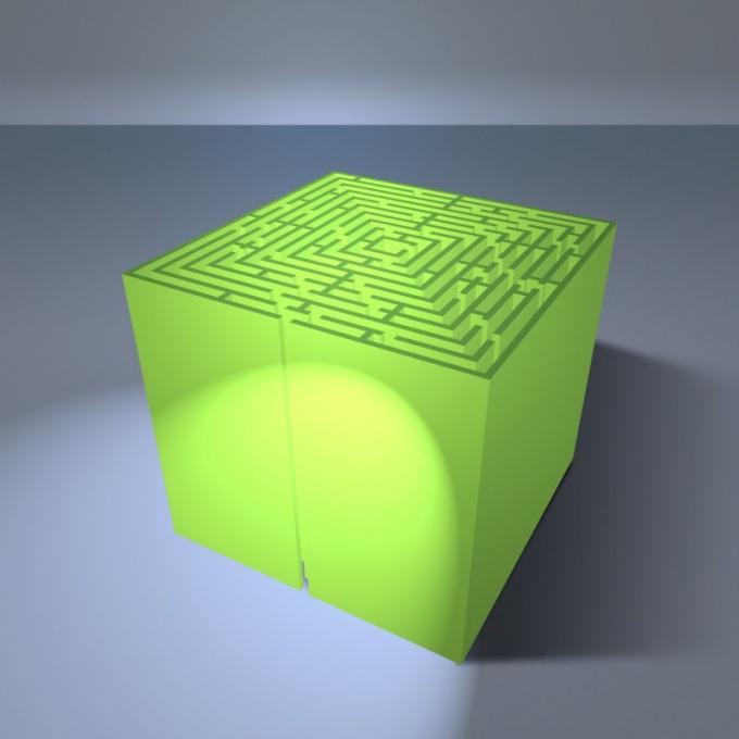 Как найти диагональ грани куба