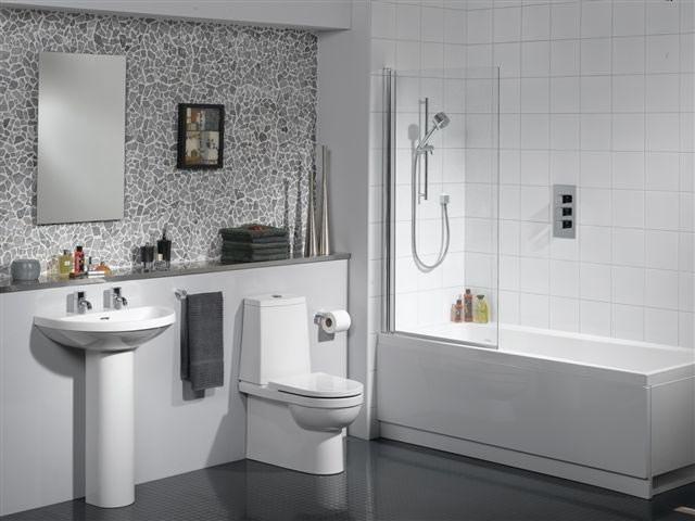 Как выбрать плитку для маленькой ванной